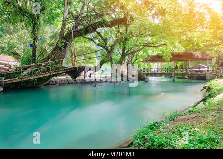 Blaue Lagune in vangvieng, Laos - Stockfoto