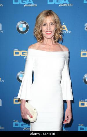 Beverly Hills, Ca. 3 Feb, 2018. Christine Lahti am 70. jährlichen DGA-Awards im Beverly Hilton Hotel in Beverly - Stockfoto