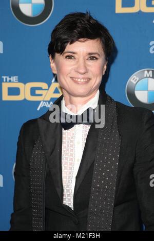 Beverly Hills, Ca. 3 Feb, 2018. Kimberly Peirce auf der 70. jährlichen DGA-Awards im Beverly Hilton Hotel in Beverly - Stockfoto