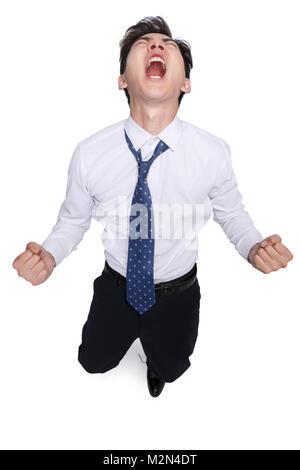 Gesichtsschmerz junger Männer - Stockfoto