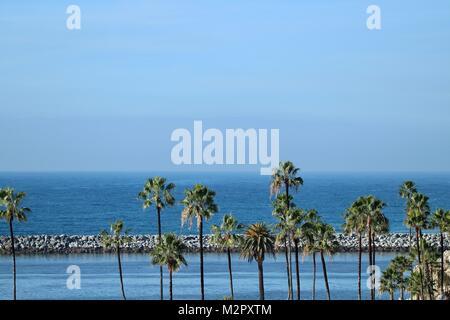 Kleine Corona Beach in Newport Beach Kalifornien - Stockfoto