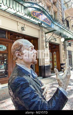 Das Cafe Tortoni, Avenida de Mayo - Stockfoto
