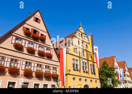 deutschland bayern romantische stra e dinkelsbuhl b ckerei schaufenster stockfoto bild. Black Bedroom Furniture Sets. Home Design Ideas