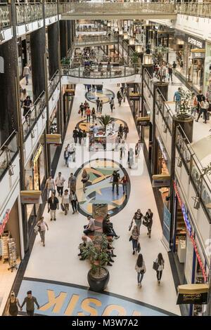 Alexa Shopping Center, Interieur, Berlin - Stockfoto
