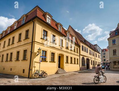 Händel Haus, Museum in Halle/Saale, Sachsen-Anhalt, Deutschland - Stockfoto