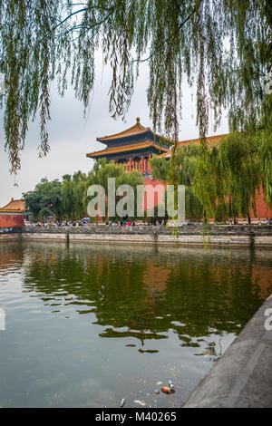 Die Palace Museum in der Verbotenen Stadt in Peking, China - Stockfoto