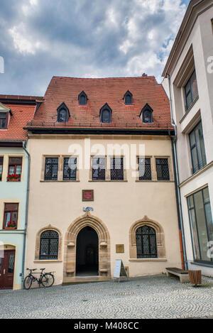 luthers sterbehaus in eisleben deutschland stockfoto bild 74856933 alamy. Black Bedroom Furniture Sets. Home Design Ideas