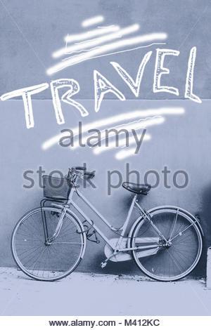 Motivation text zitat fahrrad konzept plakat f hle ich mich gut retro schriftart und fahrrad - Fahrrad an die wand hangen ...