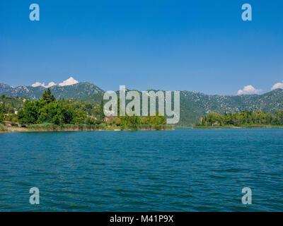 Die Bacinska Seen in der Nähe von Mühlbach am Hochkönig, Dalmatien, Kroatien, Europa - Stockfoto