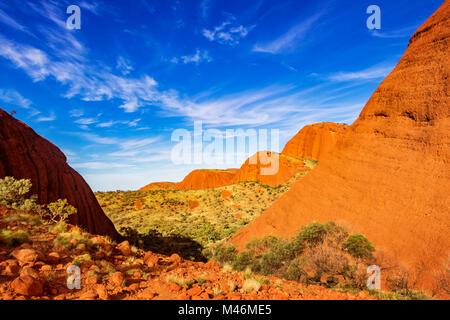 Uluru oder Ayers Rock in Northern Territory Australien - Stockfoto
