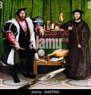 Die Botschafter von Hans Holbein der Jüngere - Stockfoto