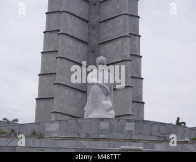 Denkmal von Jose Marti, Plaza De La Revolucion, Havanna, Kuba - Stockfoto