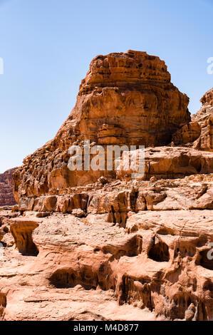 Wüste leben in Jordanien - Stockfoto