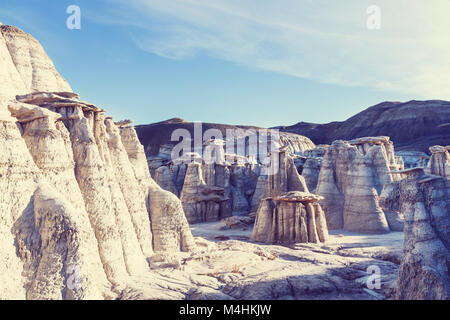 Bisti Badlands - Stockfoto