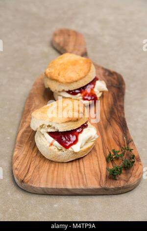 Scones britischen Dessert - Stockfoto