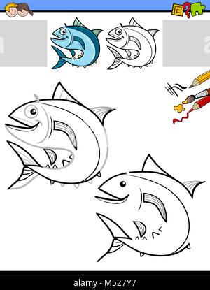 Gemütlich Fisch Färbung Fotos - Ideen färben - blsbooks.com