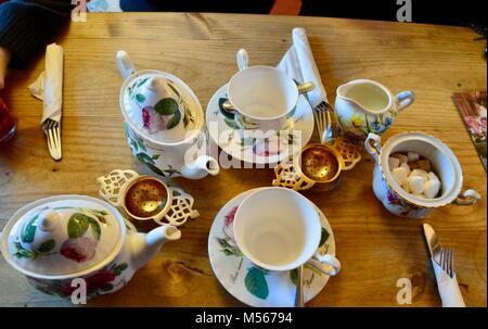 Thomas Oken Kaffee Zimmer die Castle Street warwick UK - Stockfoto