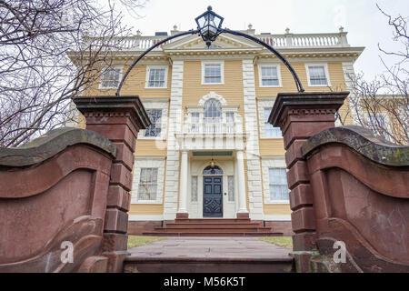 Die Nightingale-Brown Haus wurde im Jahre 1792 für die Vorsehung Kaufmann Joseph Nachtigall gebaut. Eines der großartigsten - Stockfoto