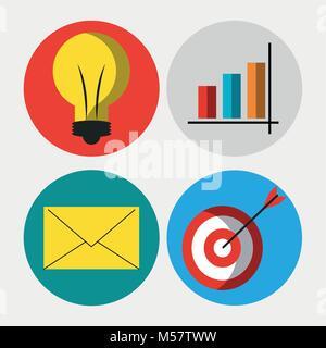 Big Data Technologie - Stockfoto