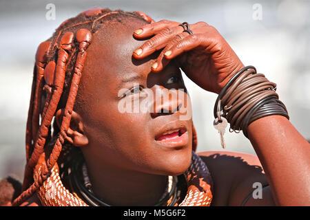 Himba-Mädchen - Stockfoto