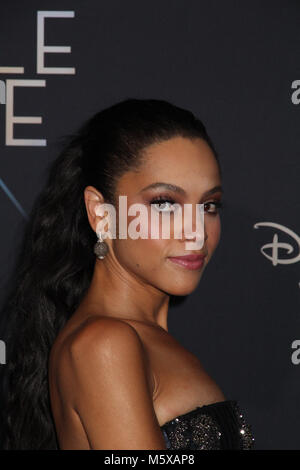 "Los Angeles, USA. 26 Feb, 2018. Bianca Lawson 02/26/2018 Die Weltpremiere von ""A Wrinkle in Time"" am El Capitan - Stockfoto"