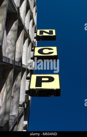 Parkplatz: NCP (National Car Parks) - Stockfoto