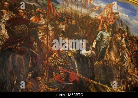 12. September 1683. Schlacht von Wien. Heldenhafte christliche Sieg über die eindringenden muslimischen Türken, - Stockfoto