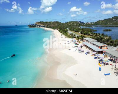 Darkwood Beach, halb Hyde Bay, Antigua