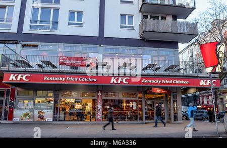 01 Mrz 2018 Deutschland Hamburg Das Restaurant Des Fast Food
