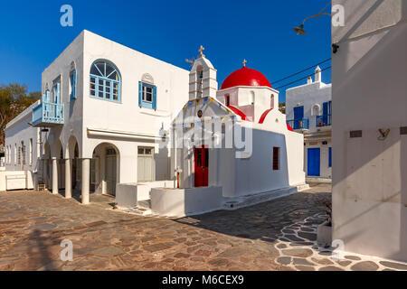 Agia Anna Kirche auf der Insel Mykonos, Griechenland - Stockfoto