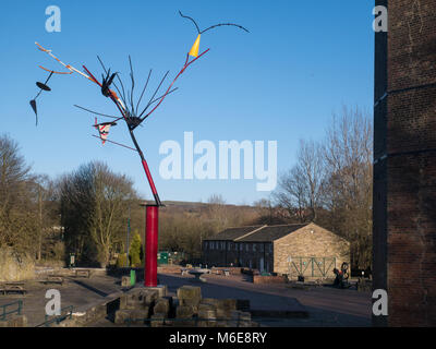 Untitled Skulptur an der Grate Country Park, begraben. - Stockfoto