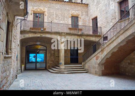 Museu de Kulturen Del Mon, Kunst Museum der Welt, La Ribera, Barcelona, Katalonien, Spanien - Stockfoto