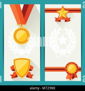 Premium-Bescheinigung über die Anerkennung Auszeichnung design ...