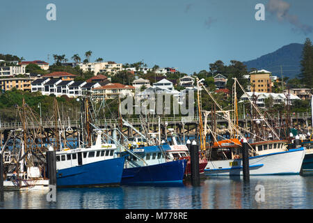 Coffs Harbour Marina, Coffs Harbour, New South Wales, Australien, Pazifik - Stockfoto
