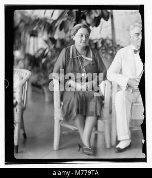 Der US-Senator & Frauen, 12.08.1936. LOC 14097 matpc. - Stockfoto