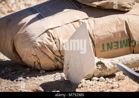 baustelle zement taschen stockfoto bild 60339393 alamy
