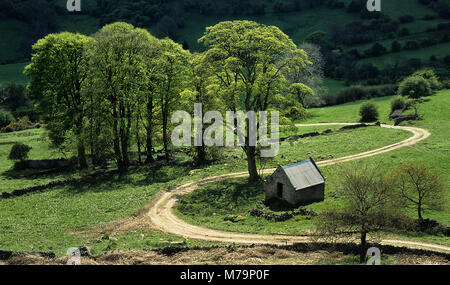 Unter Anthony Hill auf harthill Moor - Stockfoto