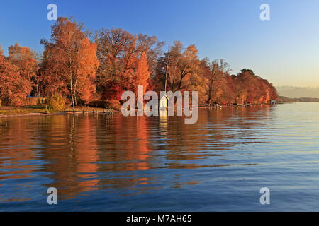 See Starnberger See, Ambach, Starnberger See, Oberbayern, Bayern ...