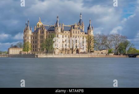 Europa, Deutschland, Mecklenburg-Vorpommern, Schwerin, Palace - Stockfoto