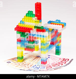 Bau Finanzierung - Stockfoto