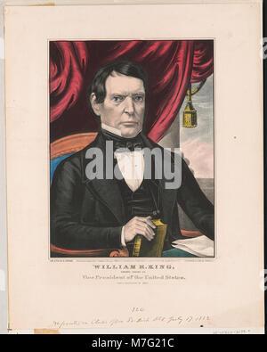 William R. König - der demokratische Kandidat für den Vizepräsidenten der Vereinigten Staaten LCCN 2002698830 - Stockfoto