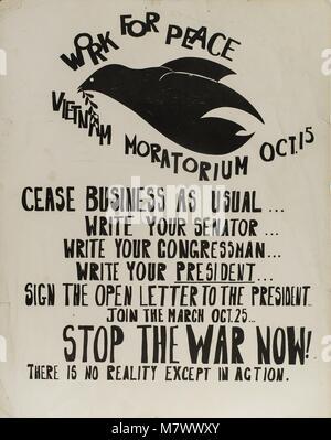 Poster, 1970. () - Stockfoto