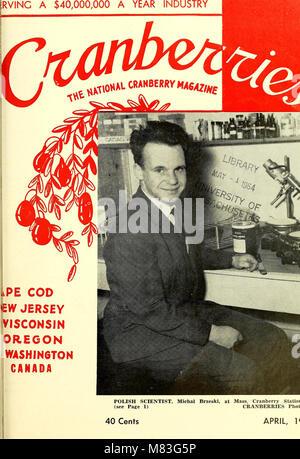 Preiselbeeren; - die nationalen cranberry Magazin (1963) (20696388692)