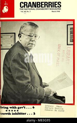 Preiselbeeren; - die nationalen cranberry Magazin (1980) (20519247340)