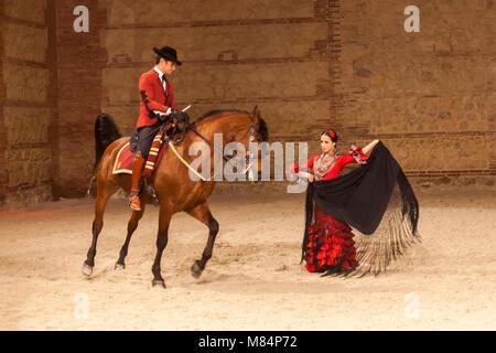 Pferdesports zeigen Marstall Cordoba - Stockfoto
