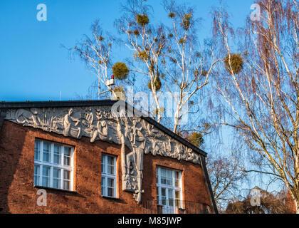 detail der fassade eines wohnhauses in hoogbrugstraat wyck maastricht niederlande stockfoto. Black Bedroom Furniture Sets. Home Design Ideas