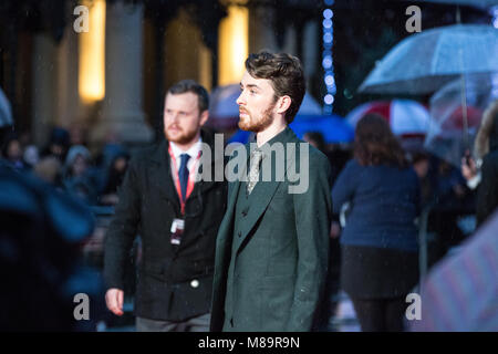 "London, UK, 8. Oktober 2014, Matthew Bart, ""die Nachahmung Spiel 'Opening Night Gala der BFI London Film Festival. - Stockfoto"