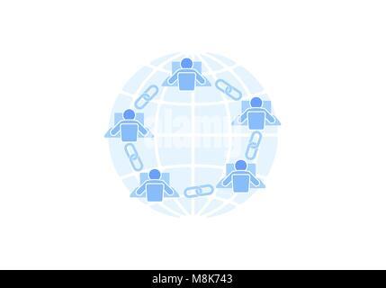 Wunderbar Blauer Draht Internet Service Bilder - Elektrische ...