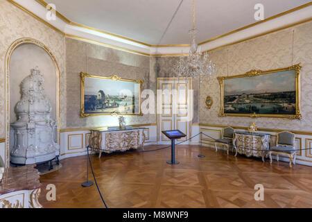 Der Münchner Residenz diente als Sitz der Regierung und der Residenz der bayerischen Herzöge, Kurfürsten und Könige - Stockfoto