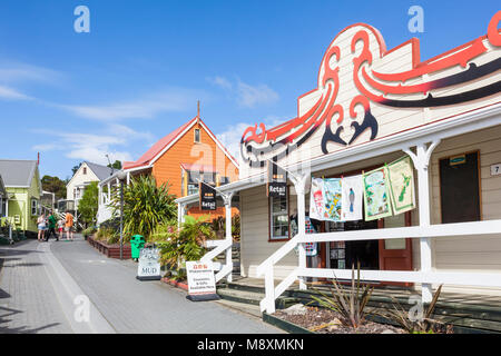 Neuseeland rotorua Neuseeland lebenden Maori-dorf whakarewarewa rotorua Souvenirshop Neuseeland Nordinsel Neuseeland - Stockfoto